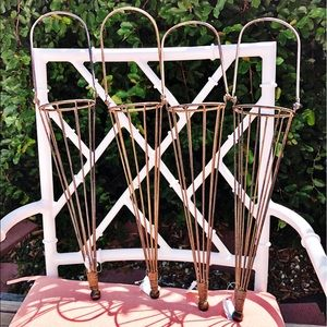 NWT Outdoor Torch Candle Holder Hanging Decor Set